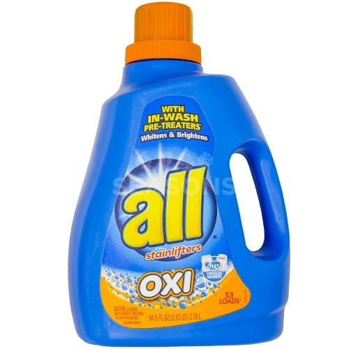 All Liquid Detergent Oxi Stainlifters, 94 5 Oz