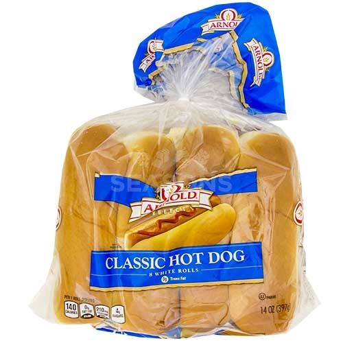 Arnold Hot Dog Buns 8 Ct Seasonskosher Com Online Kosher Grocery Shopping And Delivery Service